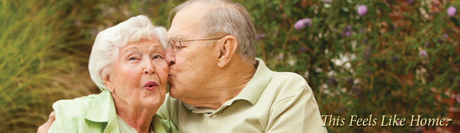 Spectrum Retirement Communities Couple