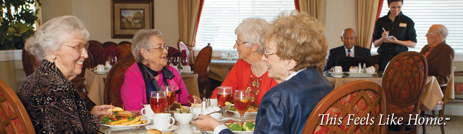 Spectrum Retirement Communities Dining