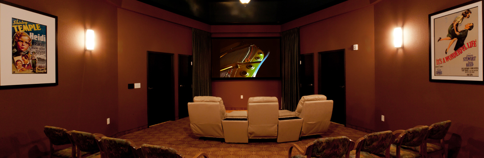 Movie theater at The Villages at Southern Hills
