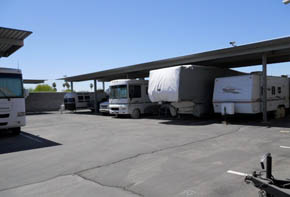 Learn about the features available at the self storage facility in Yuma