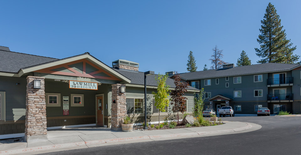 Street view of truckee apartments