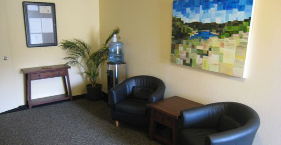 Welcome to the lobby of apartments in Berkeley