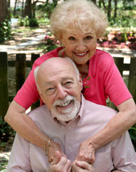 Happy assisted living couple at Cooper George