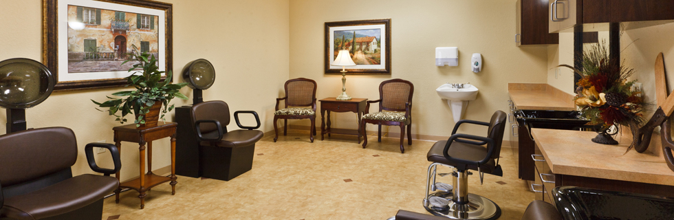 Beauty salon senior living in lawton OK