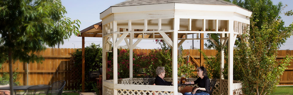 Gazebo for senior living lubbock