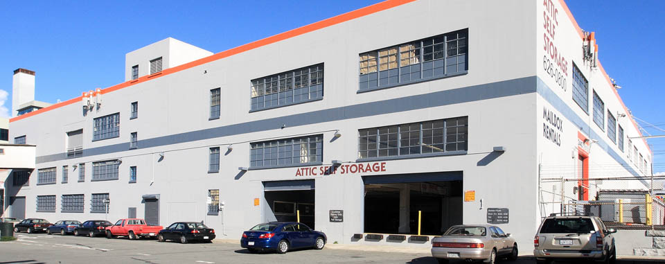 Exterior of Attic Self Storage