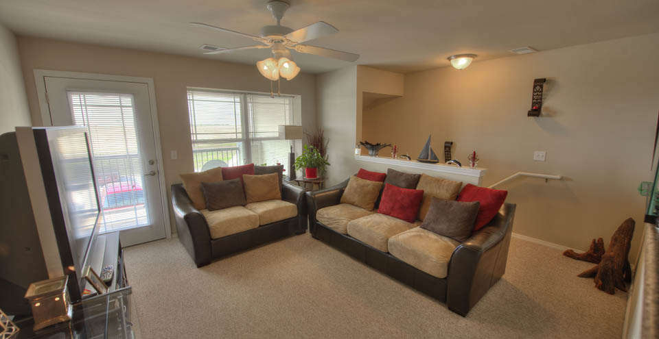 Hang out in the living room at apartments in Burkburnett