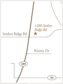 Settlers Ridge Care Center area map of Celina