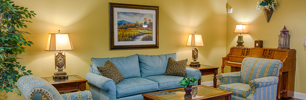 Warm furnishings at senior care in mesquite tx