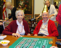 Senior Star at Burgundy Place provides an events calendar for residents.