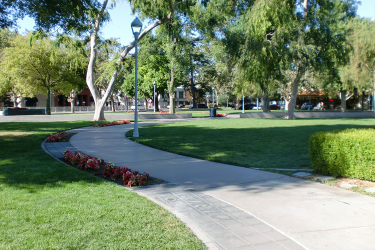 Inviting park available for residents living at The Heritage