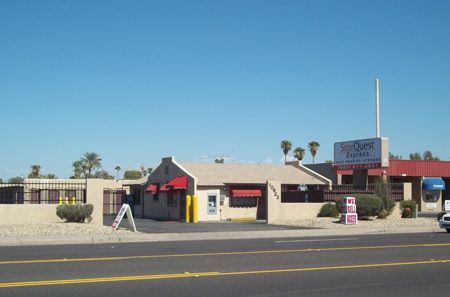 Our self storage facility in West Phoenix, AZ 85037