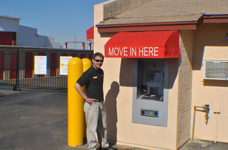 Kiosk at our Phoenix location near Avondale, AZ