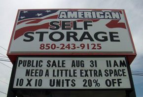 Events at American Self Storage