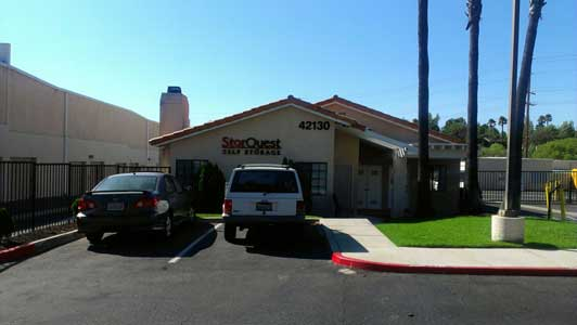 Temecula self storage facility