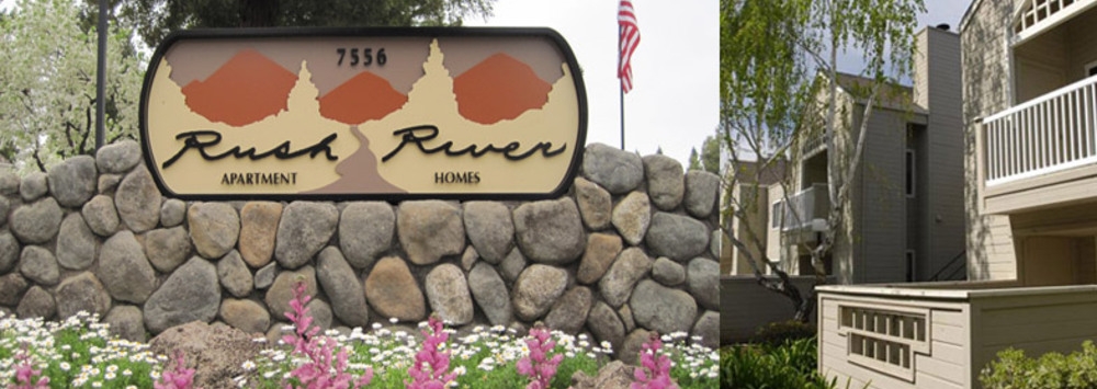 Rush river sign apartments sacrament ca