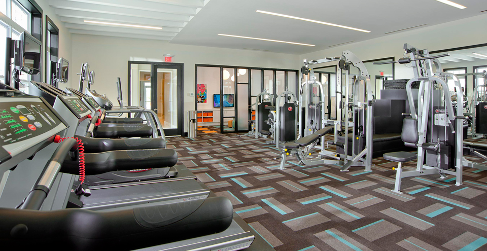 Fitness center apartments in Chesapeake VA