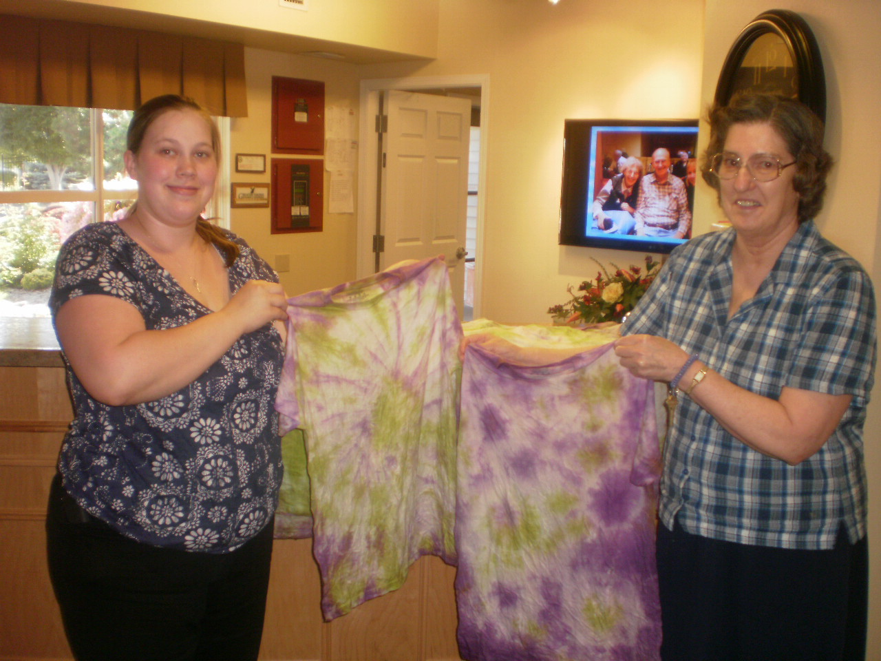 Yakima highgate staff with tie dyes