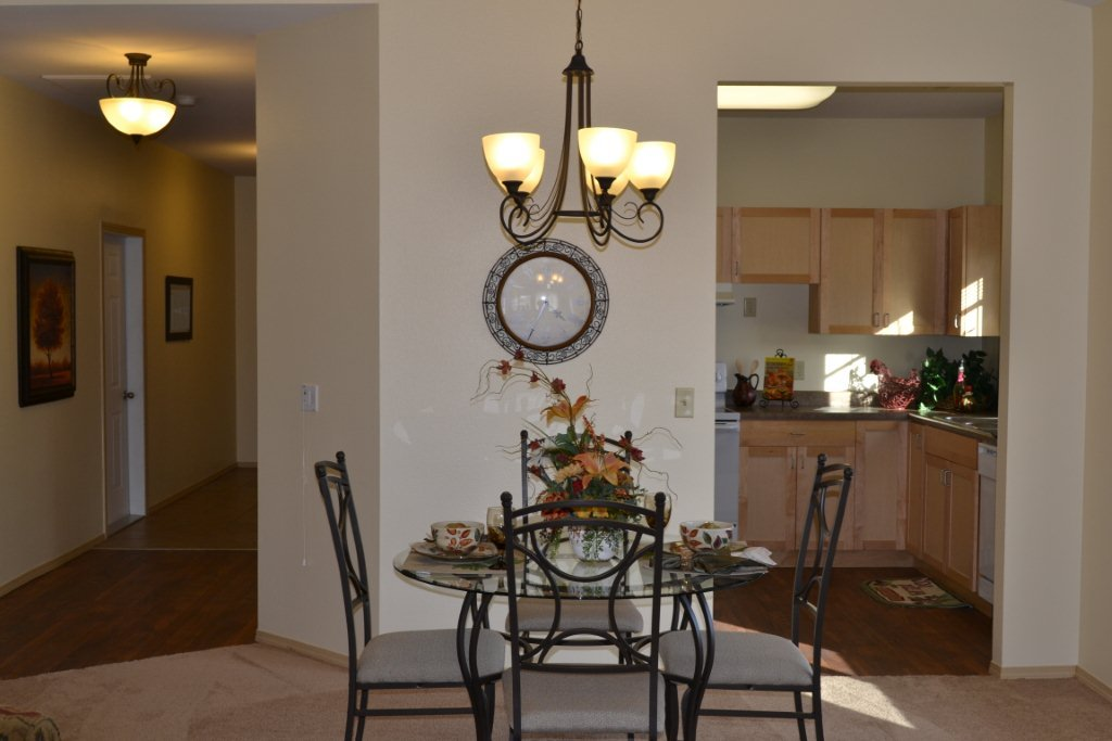 Bozeman highgate independent living dining room
