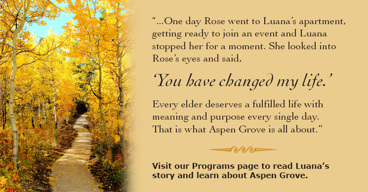 Aspen grove web quote