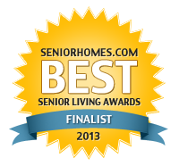 Best Senior Living Awards Finalist 2013