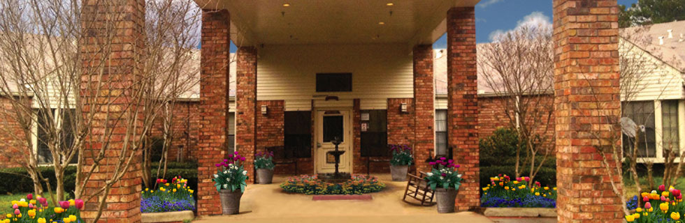 Entry for senior living in carthage