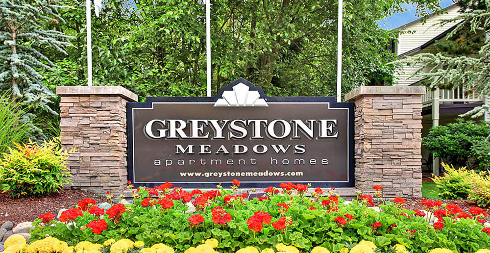 Greystone meadows marquis sign