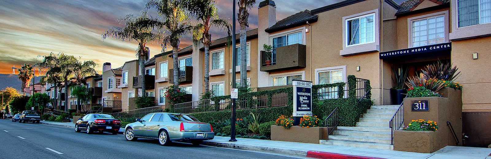 Waterstone media center apartments burbank