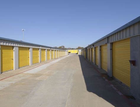 Cypress self storage building exterior