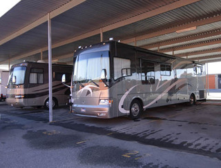 Magnolia self storage offers RV parking