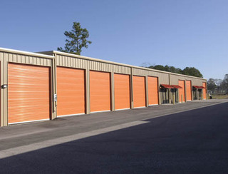 Exterior view of storage units in Magnolia
