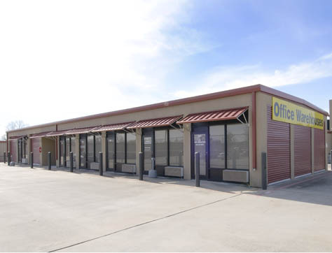 Office storage rental units in Pearland