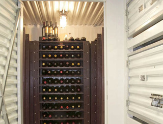 Houston wine storage facility
