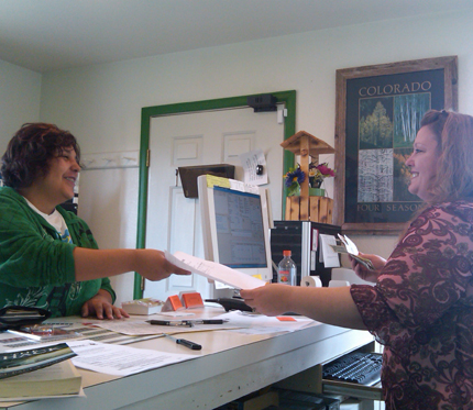 Customer service at self storage in Loveland