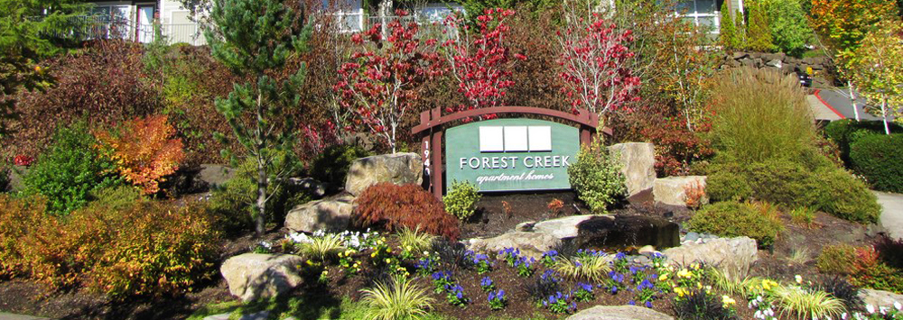 Forest creek sign portland or