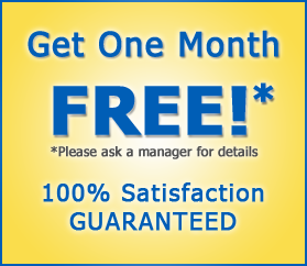 One Month Free Special at Storage Solutions