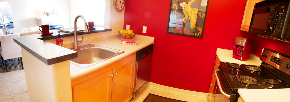 Enjoy our new kitchens at portland apartments