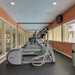 Fitness center at Tampa apartments