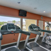 Fitness equipment at apartments in Tampa