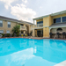 Outdoor pool at Tampa apartments