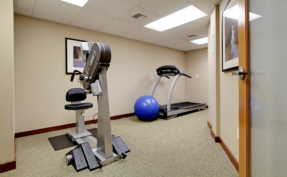 Fitness room at senior living in Kent