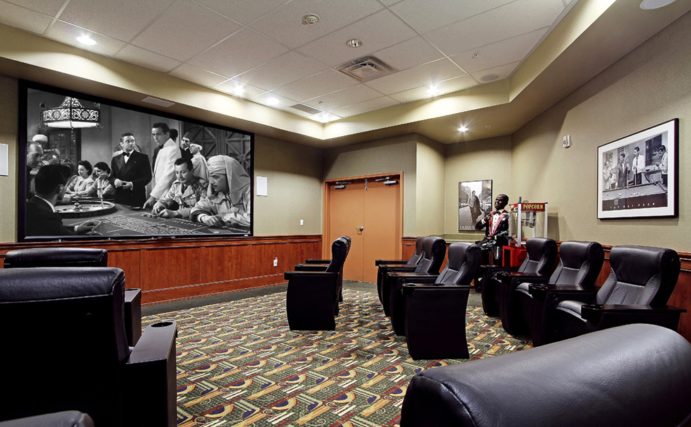 Theater at senior living in Kent
