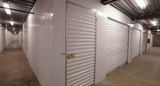 Indoor storage units in Carol Stream are clean and spacious