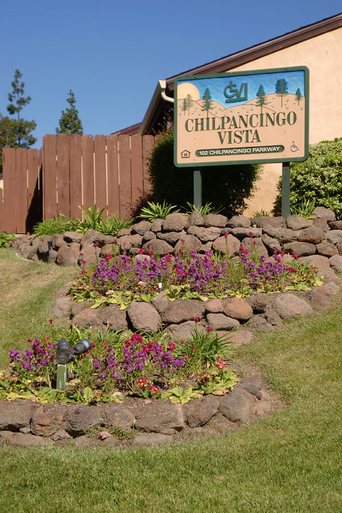 Lush gardens featured at Pleasant Hill apartments