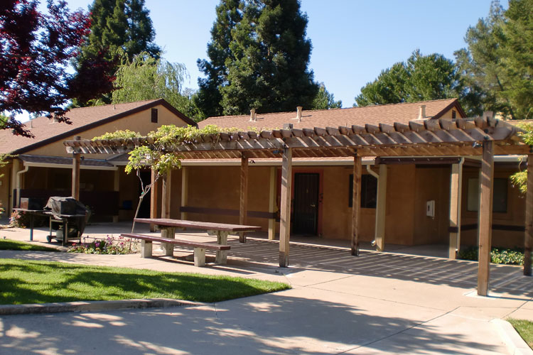 Patios available at Pleasant Hill, CA