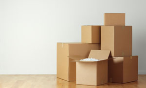 boxes and packing supplies that are available at ABC mini storage