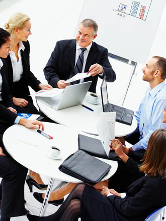 Group management with North American Senior Living