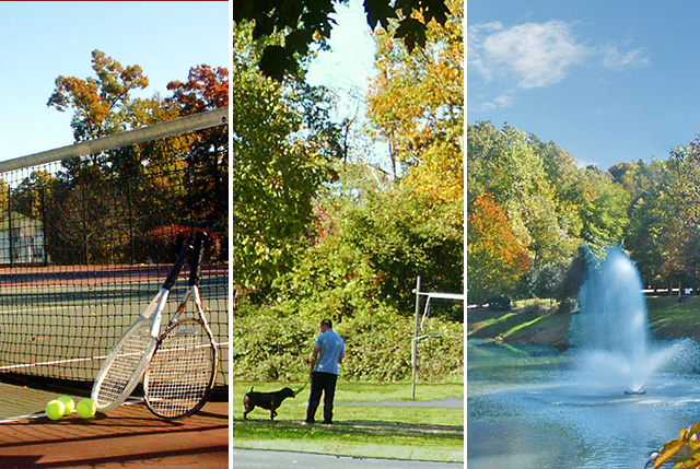 Tennis, volleyball, beautiful grounds
