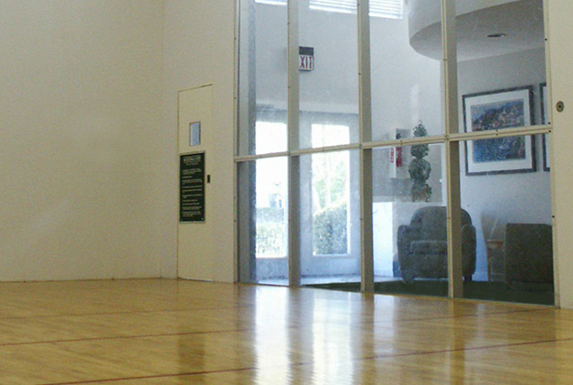 Racquetball court at Old Buckingham Station