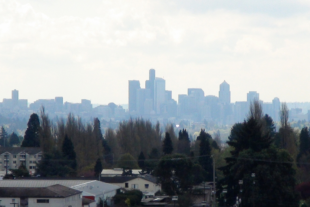 Apartments in Seattle have an amazing view of the city
